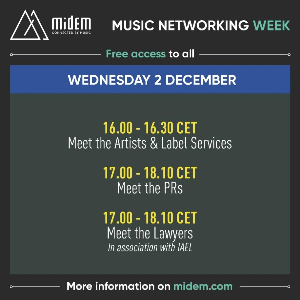 UGGC - Midem music networking week 1