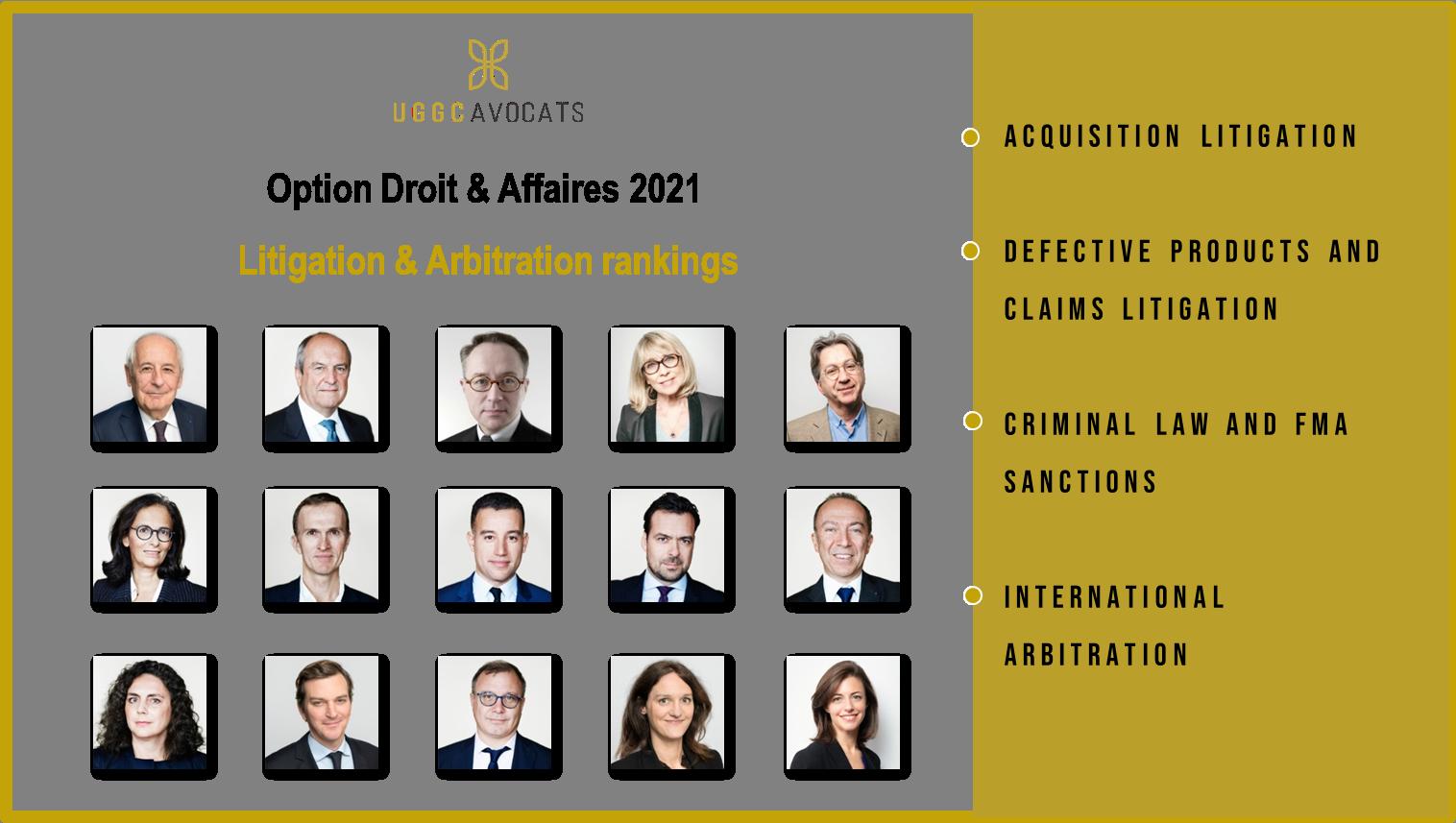 UGGC - Option droit et affaires en contentieux