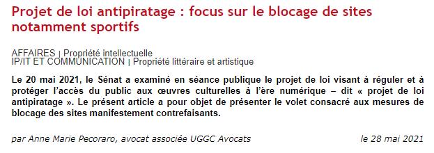 UGGC - Article dalloz
